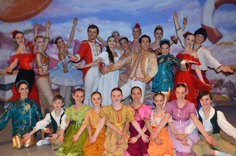 GAPA dances with the ballet pros