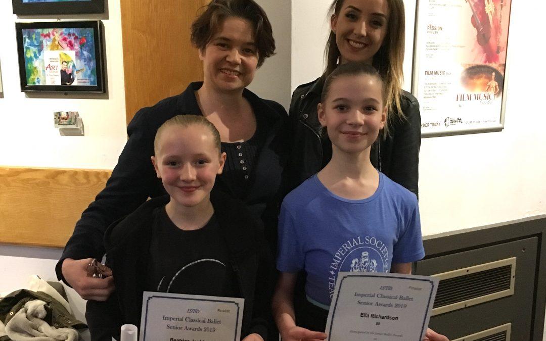 ISTD Senior Ballet Awards 2019